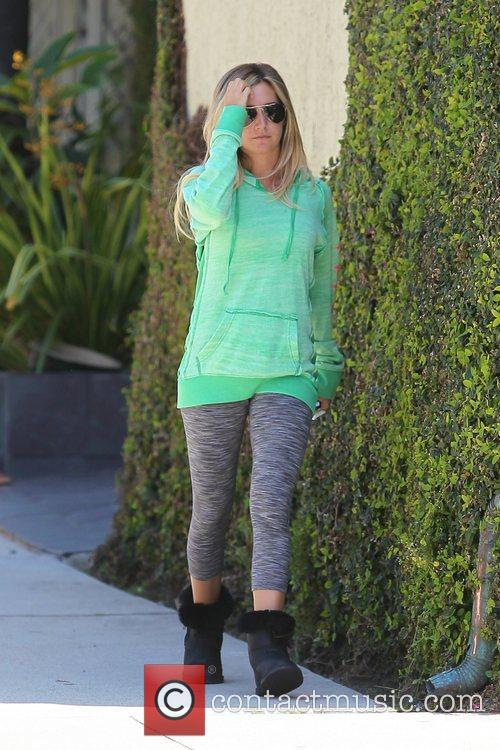Ashley Tisdale  seen out and about Los...