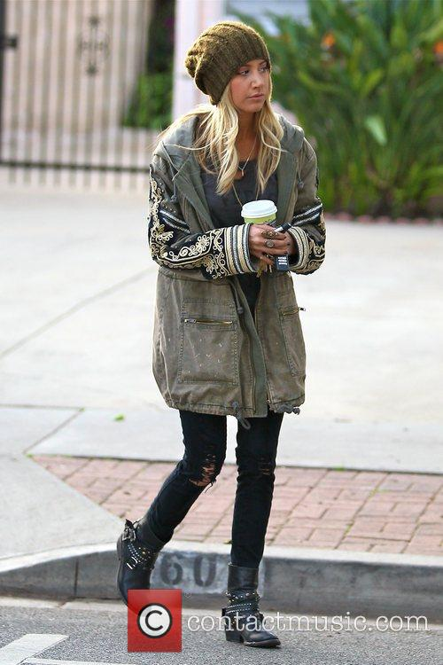 1524b8480898 Ashley Tisdale - grabs some coffee from Urth Caffe in West Hollywood ...