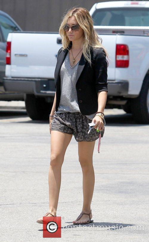 Ashley Tisdale out and about in Studio City...