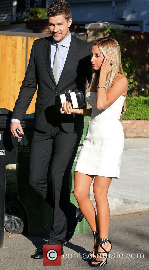 Ashley Tisdale and her director boyfriend Scott Speer...