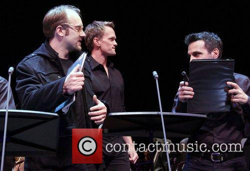 Alexander Gemignani, Neil Patrick Harris, Mario Cantone, Assassins, Studio and New York City 3