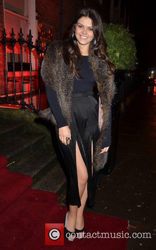 Aisling Finnegan  Assets Model Agency Christmas Party...