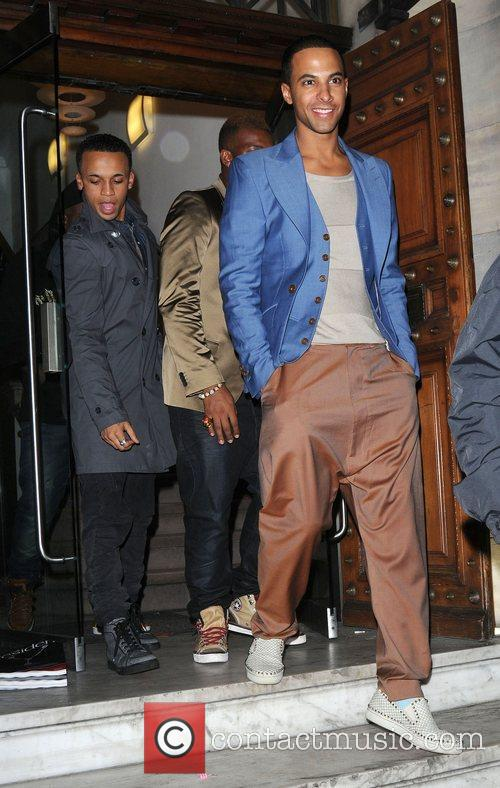 Aston Merrygold and Jls 2