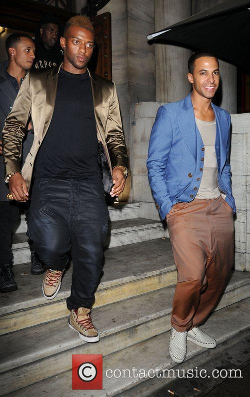 Aston Merrygold and Jls 3