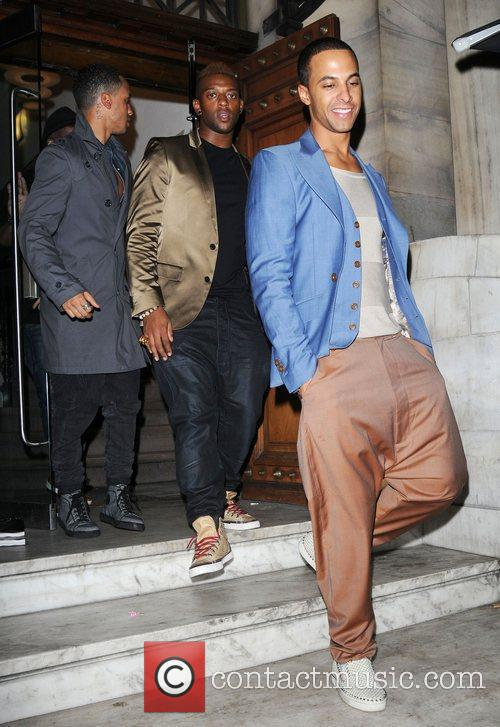Aston Merrygold and Jls 4