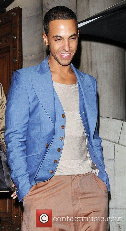 Marvin Humes Aston Merrygold celebrates his 24th birthday...