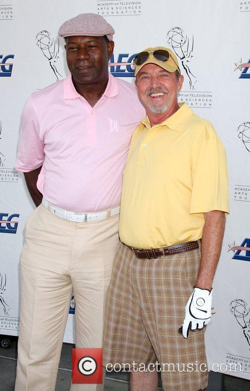 Dennis Haysbert and Gregory Itzin