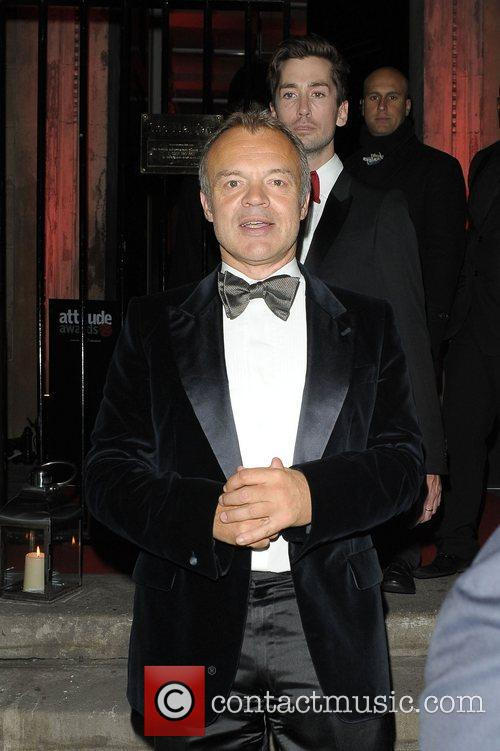 Graham Norton at Attitude Magazine Awards held at...