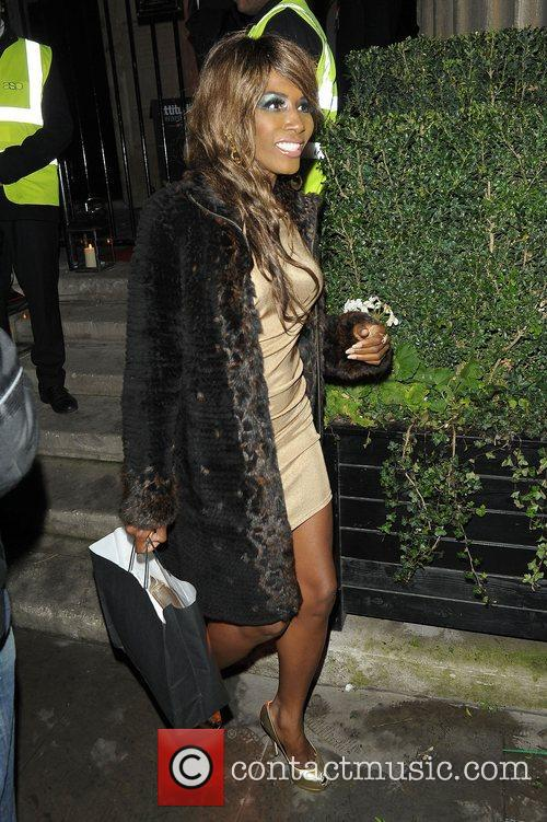 Sinitta at Attitude Magazine Awards held at One...