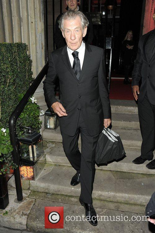 Sir Ian McKellen at Attitude Magazine Awards held...
