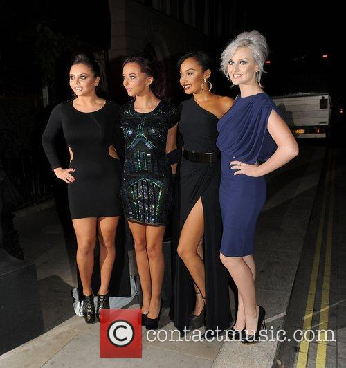 Jesy Nelson, Jade Thirlwall, Leigh-anne, Pinnock, Perrie Edwards, Little Mix, Attitude Magazine Awards and One Mayfair 10