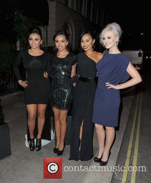 Jesy Nelson, Jade Thirlwall, Leigh-anne, Pinnock, Perrie Edwards, Little Mix, Attitude Magazine Awards and One Mayfair 11