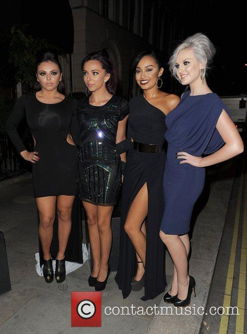 Jesy Nelson, Jade Thirlwall, Leigh-anne, Pinnock, Perrie Edwards, Little Mix, Attitude Magazine Awards and One Mayfair 5
