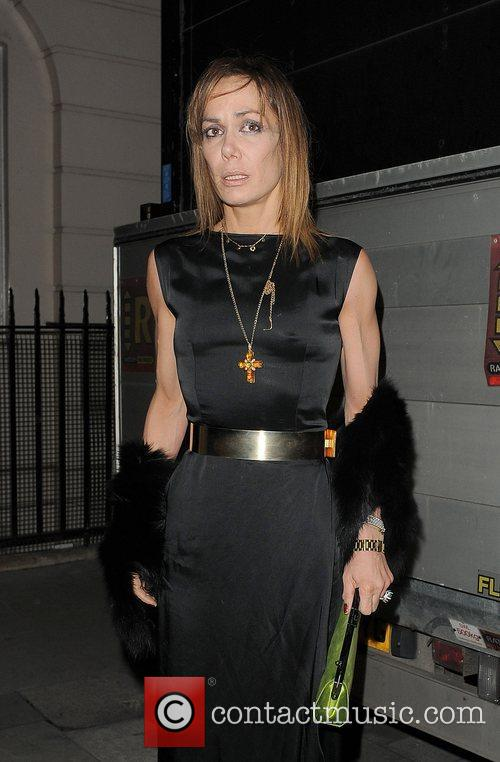 Tara Palmer-Tomkinson arriving at the Attitude Magazine Awards...