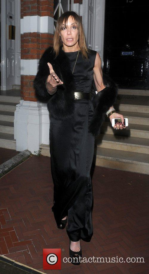 Tara Palmer-Tomkinson leaving the Attitude Magazine Awards held...