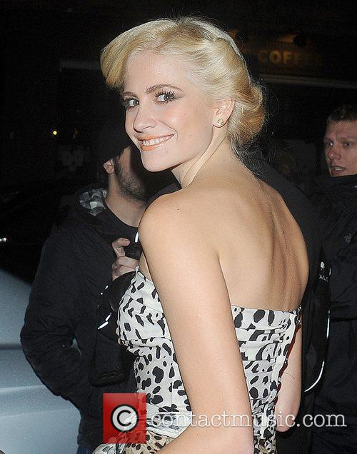 Pixie Lott leaving the Attitude Magazine Awards held...