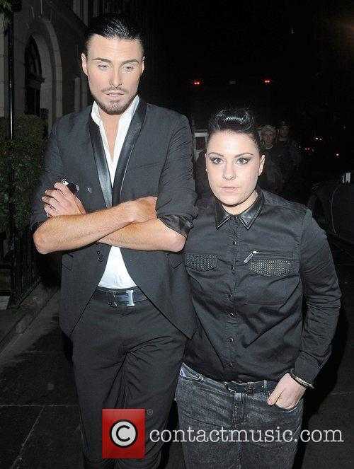 X Factor finalists Rylan Clark and Lucy Spraggan...