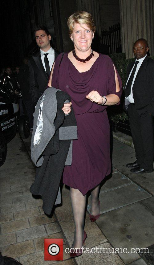 Clare Balding leaving the Attitude Magazine Awards held...
