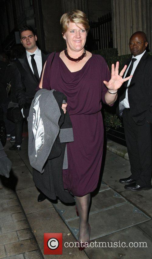 Leaving the Attitude Magazine Awards held at One...