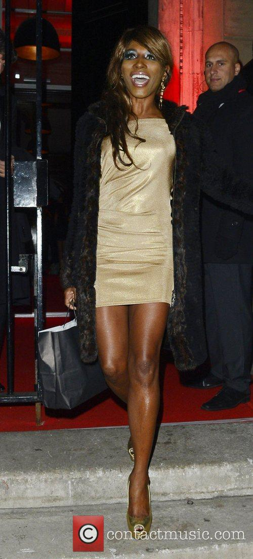 Sinitta The Attitude Magazine Awards held at One...