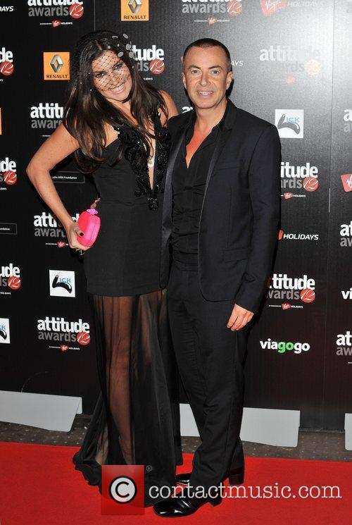 Julien MacDonald and Grace Woodward Attitude Magazine Awards...
