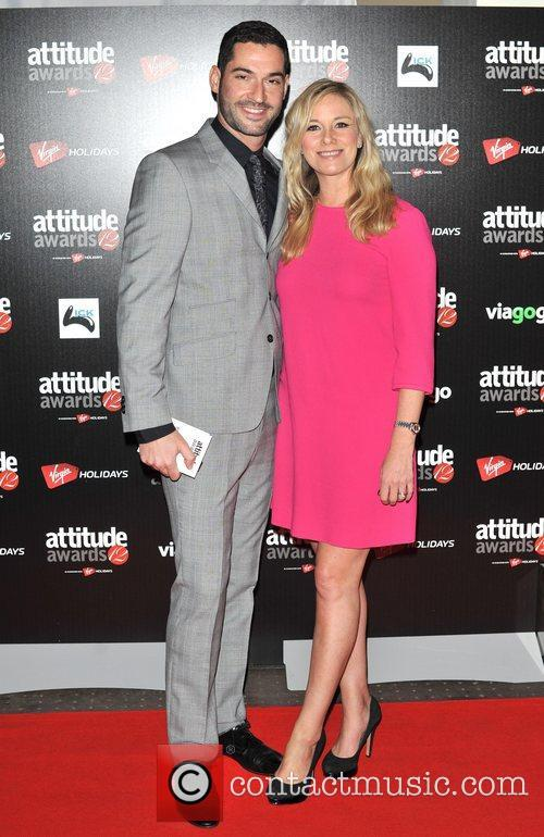 Tamzin Outhwaite and Tom Ellis Attitude Magazine Awards...