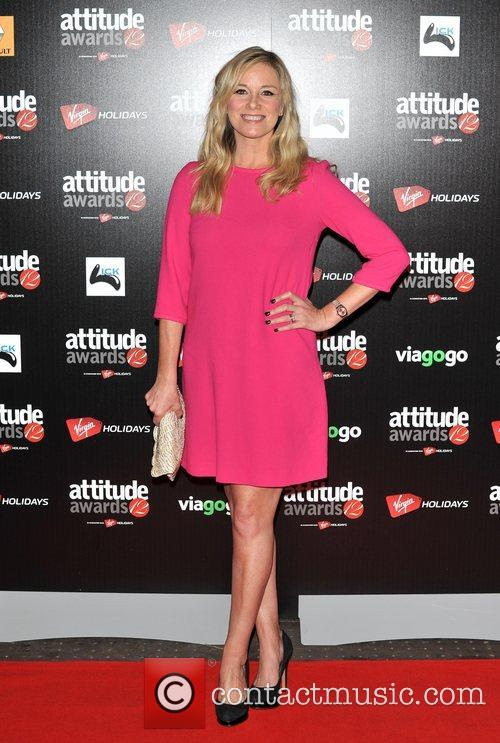 Tamzin Outhwaite Attitude Magazine Awards held at One...