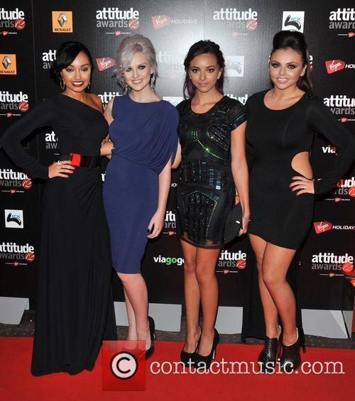 Little Mix Attitude Magazine Awards held at One...