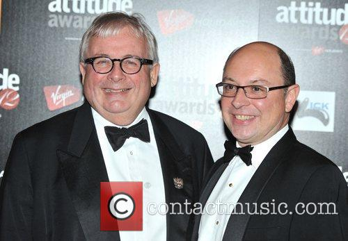 Christopher Biggins and guest Attitude Magazine Awards held...