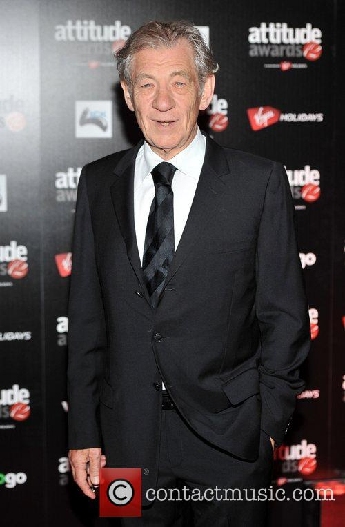 Sir Ian McKellen,  Attitude Magazine Awards held...