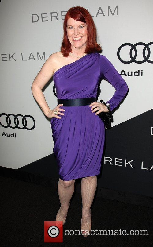Kate Flannery Audi and Derek Lam celebrate the...