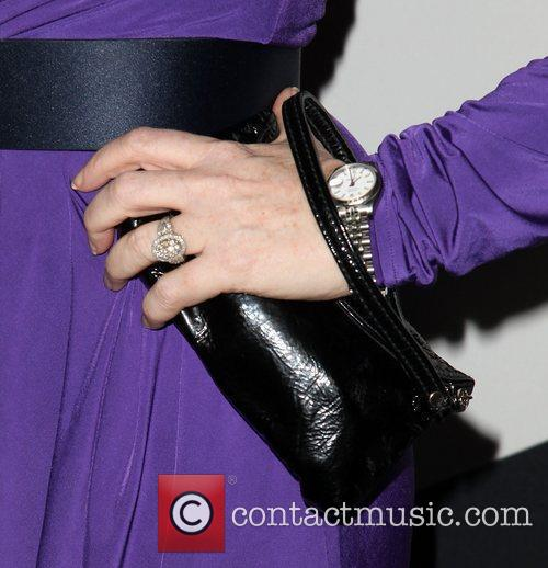 Kate Flannery (purse detail) Audi and Derek Lam...