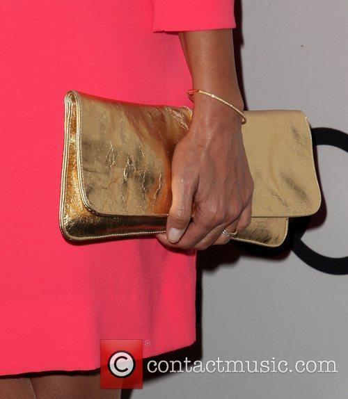 Nia Vardalos (purse detail) Audi and Derek Lam...