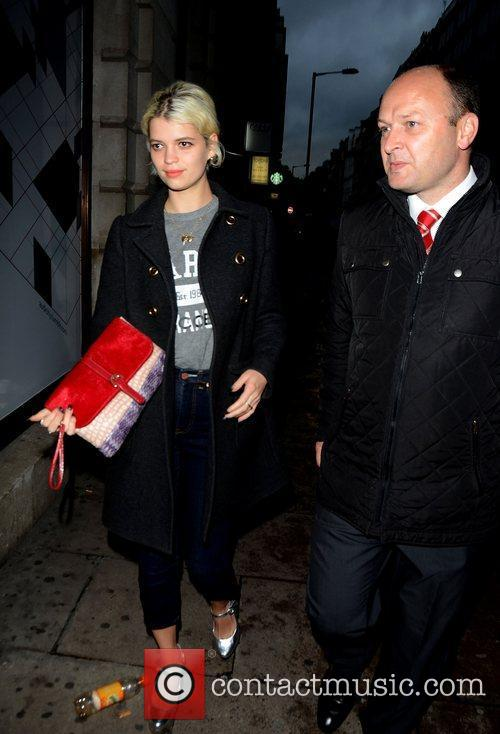 Pixie Geldof at the VIP launch of Audi...