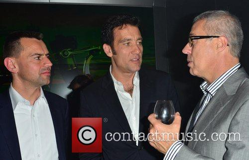 Clive Owen VIP launch of Audi Digital Store...