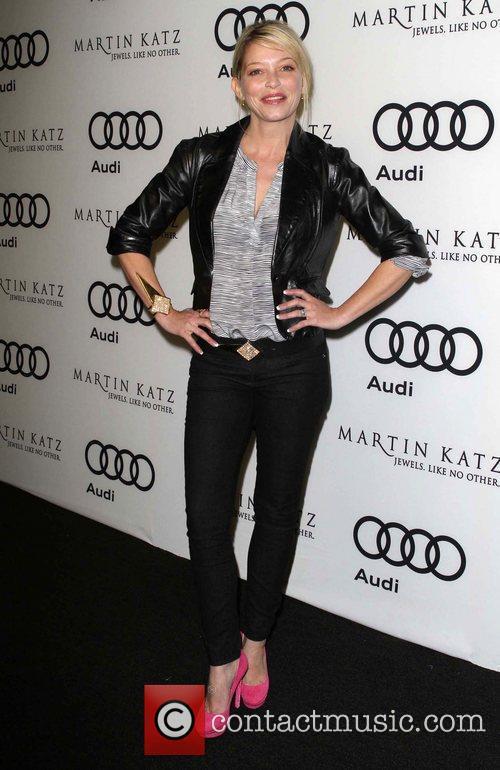 Amanda Detmer and Golden Globe 4