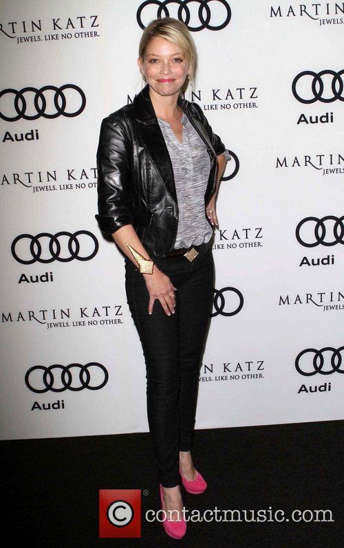 Amanda Detmer and Golden Globe 5