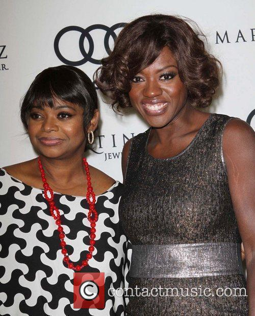 Octavia Spencer, Viola Davis and Golden Globe 3