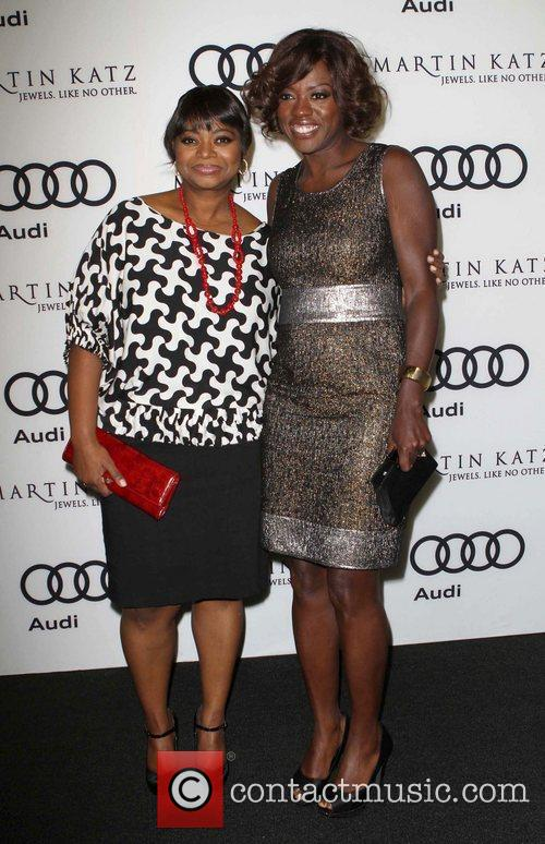 Octavia Spencer, Viola Davis and Golden Globe 4
