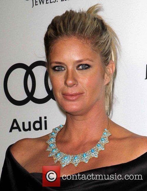 Rachel Hunter and Golden Globe 2