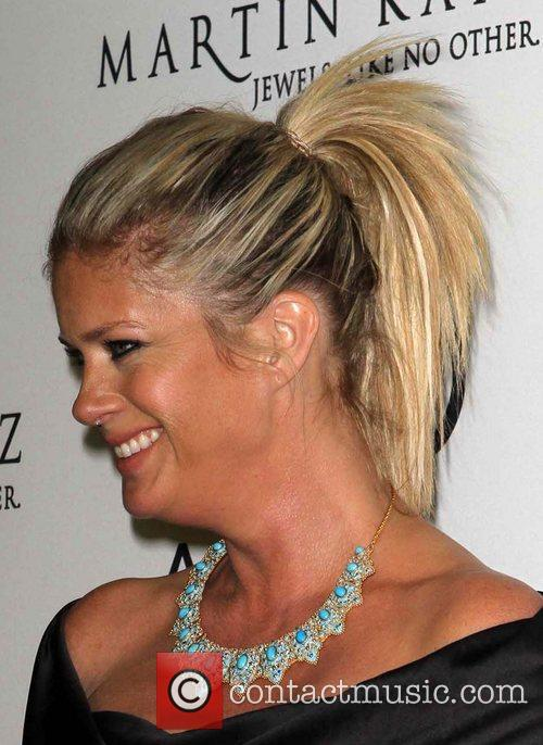 Rachel Hunter and Golden Globe 1
