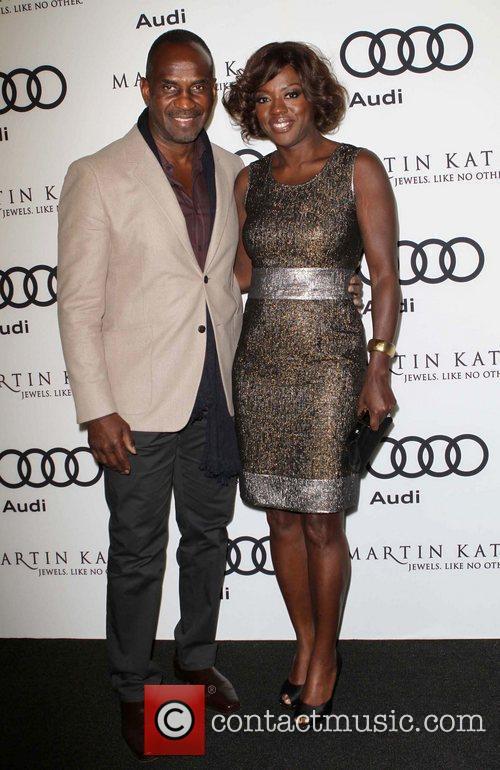 Viola Davis and Golden Globe 2