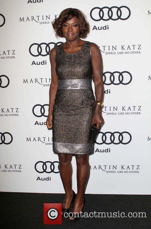 Viola Davis and Golden Globe 3