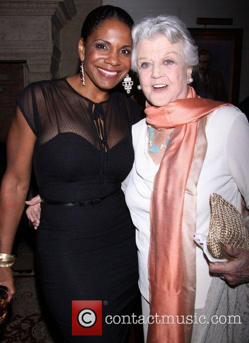 Audra McDonald and Angela Lansbury attending the The...