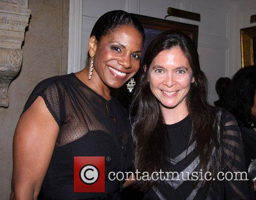 Audra McDonald and Diane Paulus  attending the...