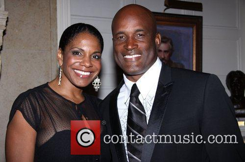 Audra McDonald and Kenny Leon attending the The...