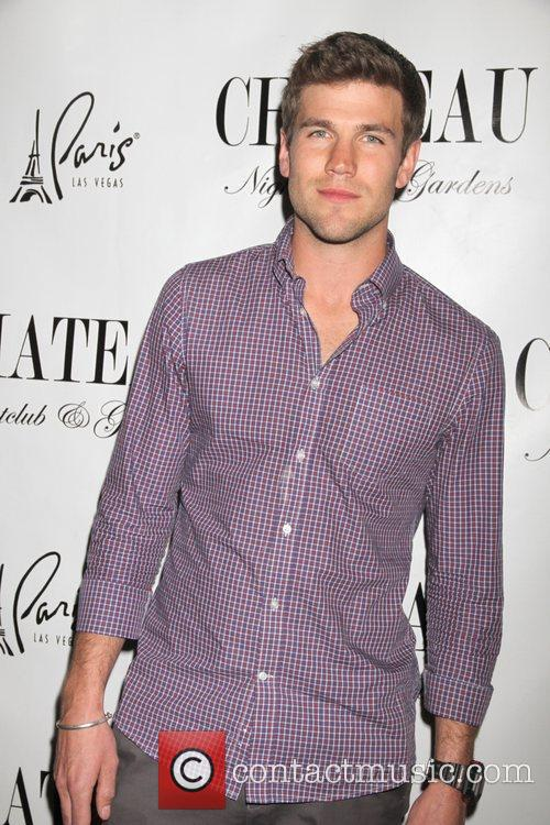 Austin Stowell walking the red carpet at Chateau...