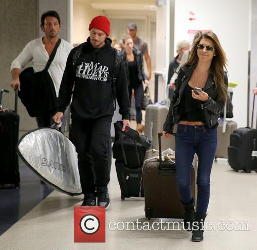 Audrina Patridge arrives at LAX airport with her...