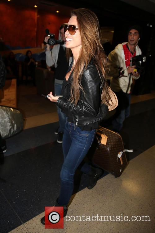 Audrina Patridge Audrina Patridge arrives at LAX airport...