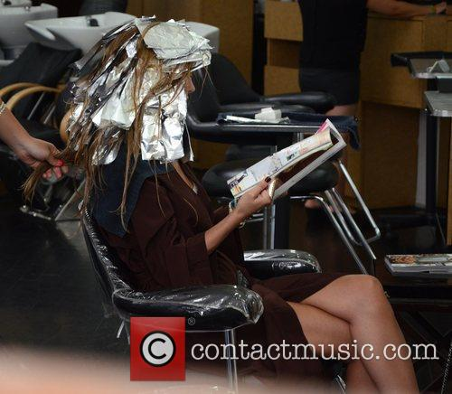 audrina patridge gets her hair styled at 4044020